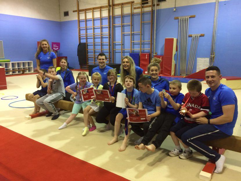 Inclusion gymnastics