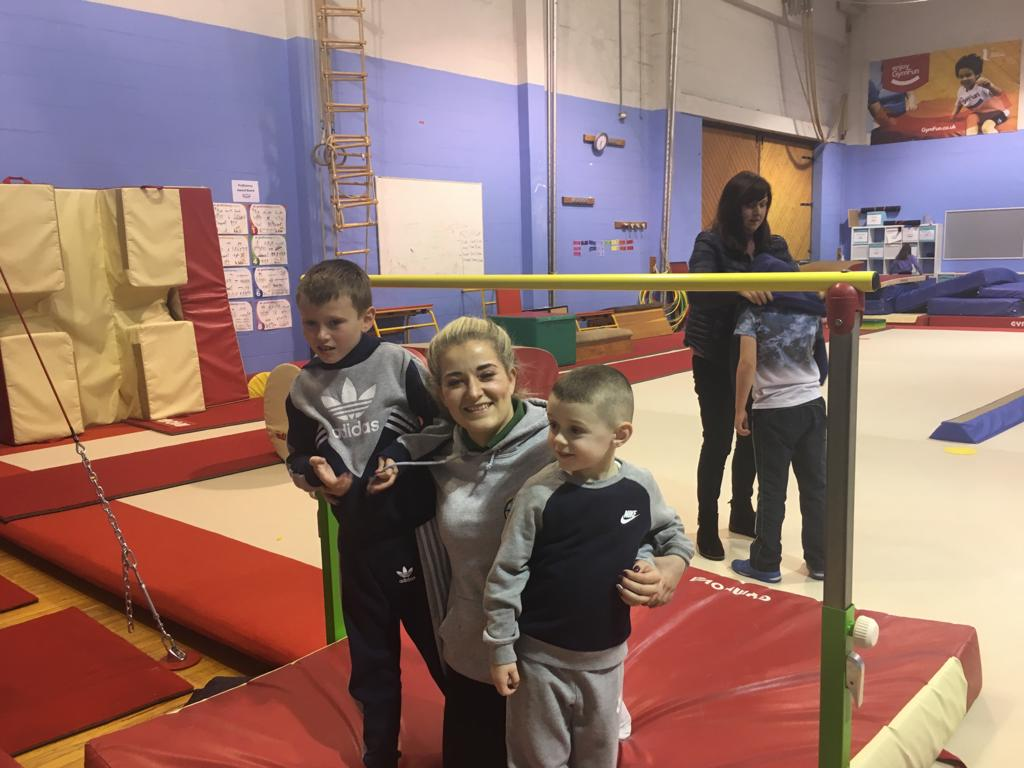 Inclusive gymnastics, Disability Gymnastics